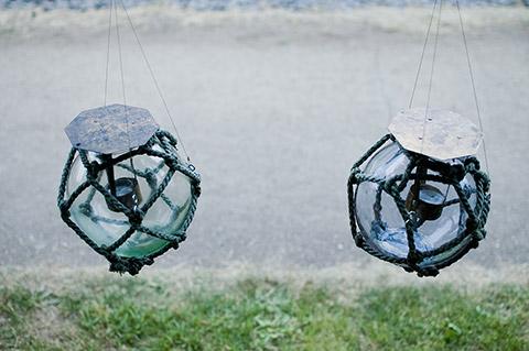 昼の浮き球