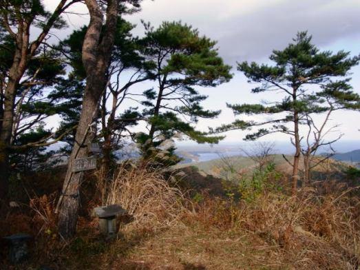 翁倉山の山頂